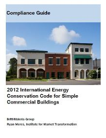 2012 International Energy Conservation Code for Simple Commercial Buildings