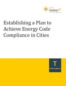 Establishing a Plan to Achieve Energy Code Compliance in Cities