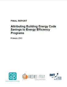 Attributing Building Energy Code Savings to Energy Efficiency Programs