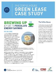 The Coffee House Green Lease Case Study