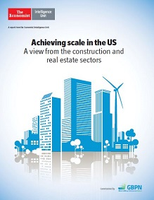 Achieving scale in the US: A view from the construction and real estate sectors