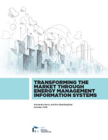 Transforming the Market Through Energy Management Information Systems