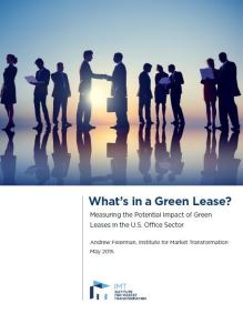 Measuring the Potential Impact of Green Leases in the U.S. Office Sector