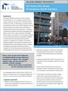 Valuing Energy Efficiency in Office Buildings