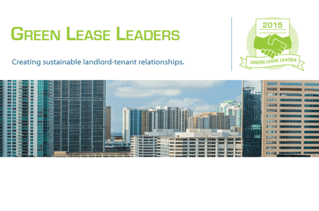 2015 Green Lease Leaders Launches