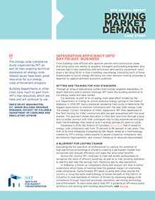 IMT 2016 Annual Report Case Study: Driving Market Demand