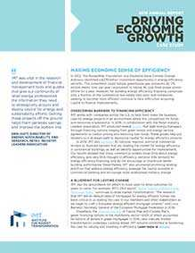 IMT 2016 Annual Report Case Study: Economic Growth