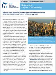 Valuing Energy Efficiency: Beyond the Empire State Building