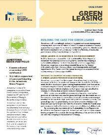 Case Study: Jamestown, LP Builds the Case for Green Leases