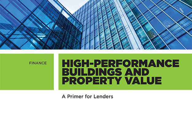 New Lender Guide to High-Performance Buildings