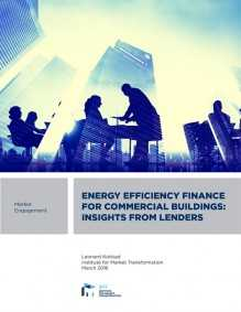Energy  Efficiency Finance For Commercial Buildings: Insights From Lenders