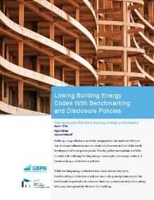 Linking Building Energy Codes With Benchmarking and Disclosure Policies