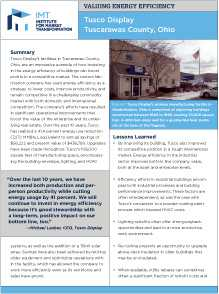 Valuing Energy Efficiency in Manufacturing Spaces