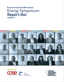 Empowering Small Businesses: Energy Symposium Report-Out