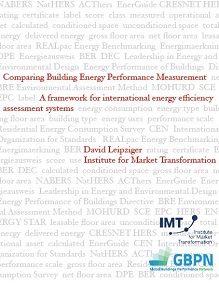 Comparing Building Energy Performance Measurement