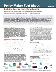 Building Energy Code Compliance: A Low-Cost Tool to Boost Jobs, Cut Pollution, and Advance…