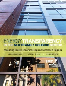 Energy Transparency in the Multifamily Housing Sector