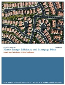 Home Energy Efficiency and Mortgage Risks