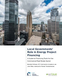 Local Governments' Role in Energy Project Financing