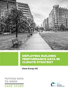 Putting Data to Work: Deploying Building Performance Data in Climate Strategy