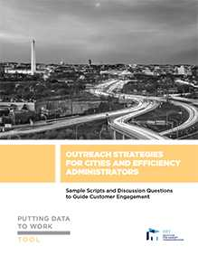Putting Data to Work: Outreach Strategies for Cities and Efficiency Administrators