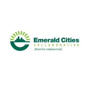 Emerald CIties Collaborative logo in green