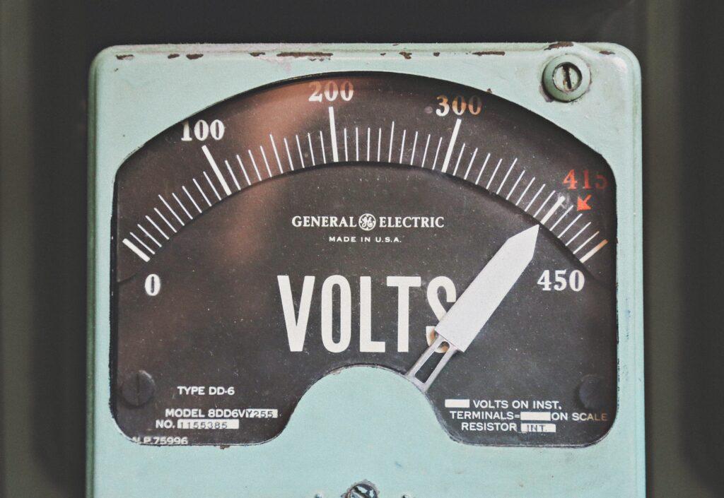Photo of meter