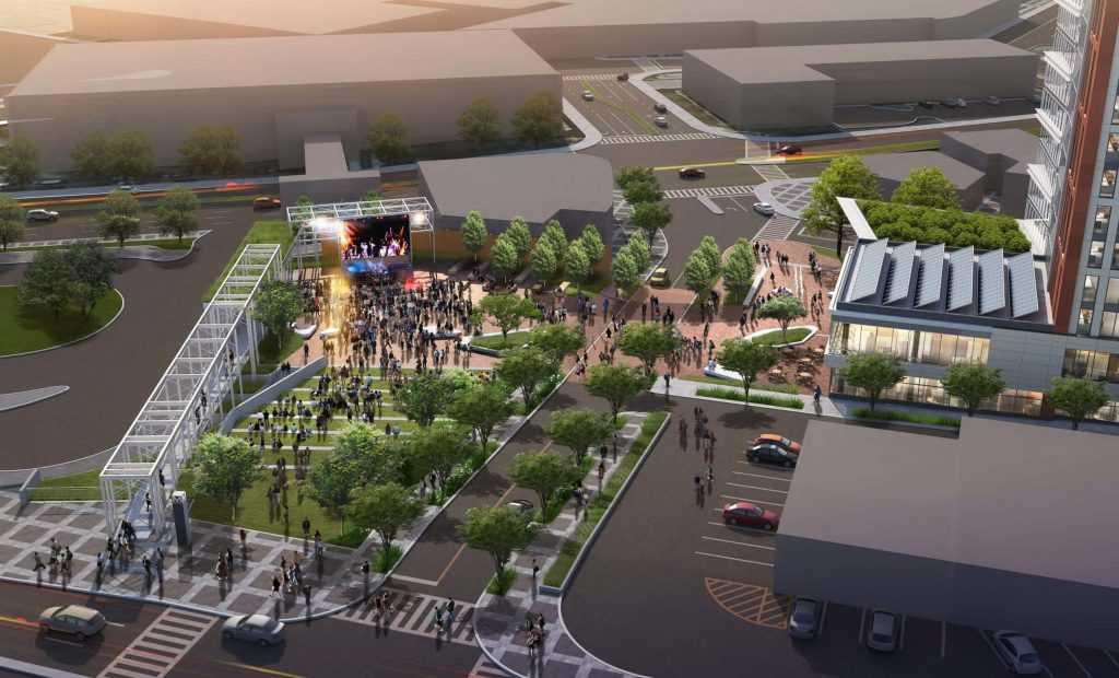 Wheaton development rendering, courtesy of Gensler Architects